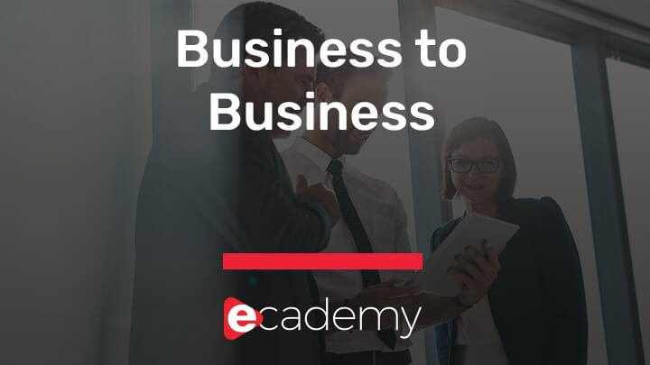 B2B Selling course by selltowin ecademy video
