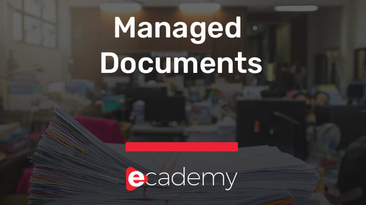 Managed Documents selling course by selltowin ecademy video